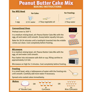 Cake Kit (Peanut Butter)
