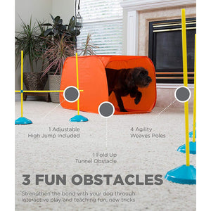 Zip & Zoom Indoor - Agility Kit