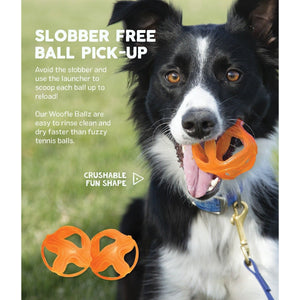 Woofle Ballz and Zipstick - Fetch Toy