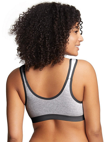 Eden Organic Cotton Wirefree Front-closing Bra