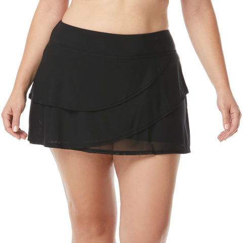 Mesh Layer Swim Skort
