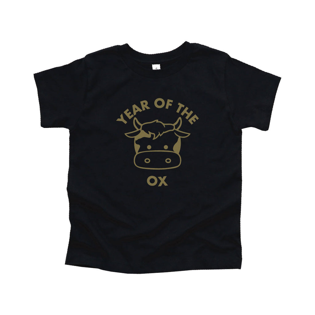 GOLD YEAR OF THE OX TEE