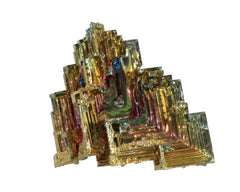 "Bismuth -A35- 35pc flat 1 1/4"" to 1 1/2"" size"