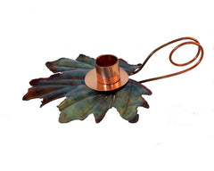 Maple Leaf Candle Holder