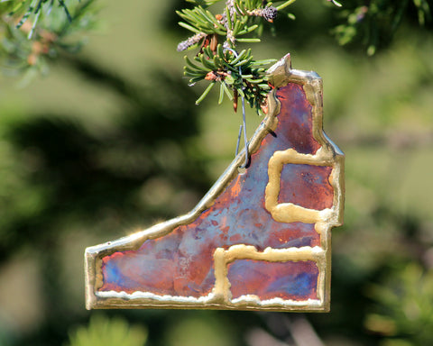 Mine Shaft Ornament