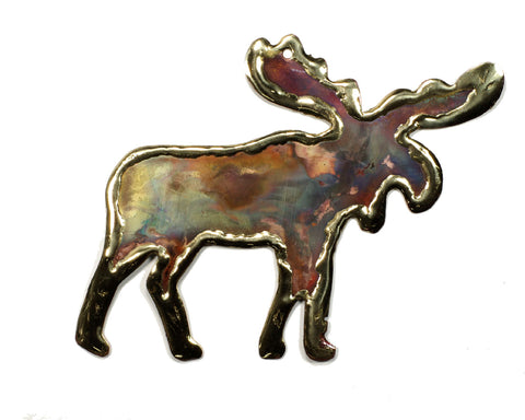 Full Moose Ornament