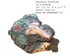 Float Copper Free Form Butchite #103B