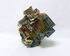 "Colored Bismuth - 18pc flat 2"" to 2 1/2"" size"