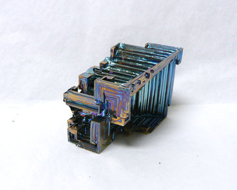"Colored Bismuth - 24pc flat 1 1/2"" to 1 3/4""size"