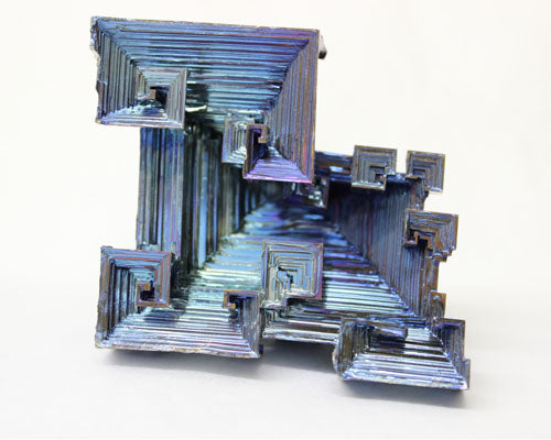 "Colored Bismuth - 12pc flat 3 1/2"" to 4"" size"