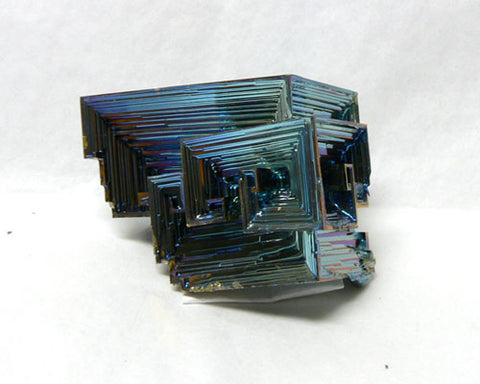 "Colored Bismuth - 24pc flat 1 3/4"" to 2"" size"