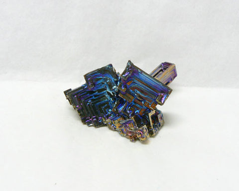 "Colored Bismuth - 54pc flat 1"" to 1 1/4"" size"