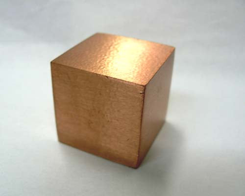 Large Copper Cube - 24 pc flat