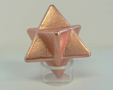 Copper Merkaba LG 12pc Flat