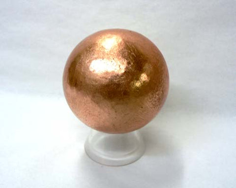 Medium Solid Copper Spheres - 24pc flat