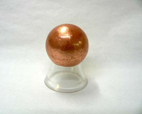 Small Solid Copper Spheres - 54pc flat