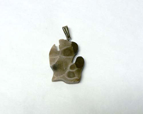 Petoskey Stone Lower Michigan Charm