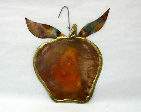 Copper Art Apple