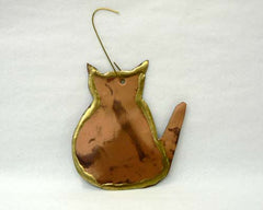Copper Art Cat