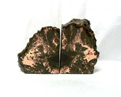 Small Copper Ore Bookends