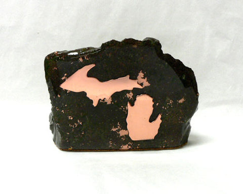 Small Copper Ore Decorators with Copper Michigan