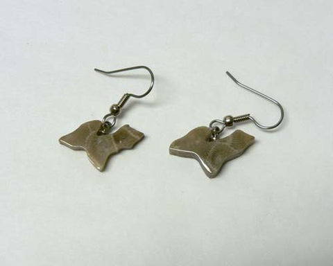 Petoskey Stone Upper Michigan Earrings