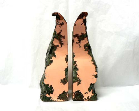Medium Float Copper Bookends