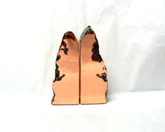Small Float Copper Bookends
