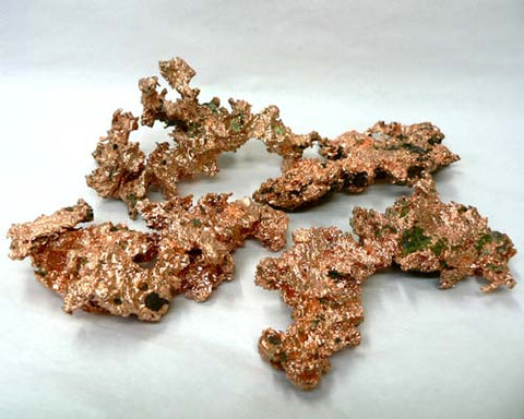 "Native Copper in Bulk - 4"" or larger"