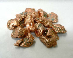 "Medium Copper Nuggets in Bulk - 1 1/4"" to 4"""
