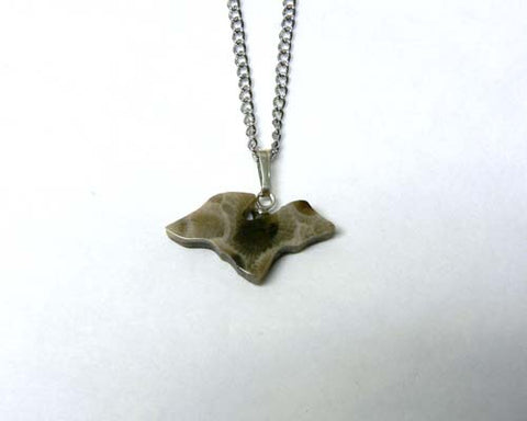 Petoskey Stone Upper Michigan Pendant