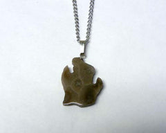 Petoskey Stone Lower Michigan Pendant