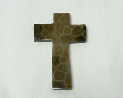 Petoskey Stone Cross Magnet