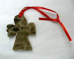 Petoskey Stone Angel Ornament