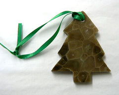 Petoskey Stone Tree Ornamnet