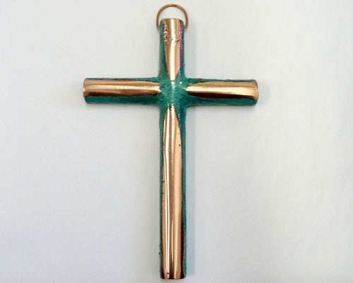 Solid Copper Medium Cross
