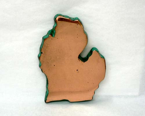Solid Copper Lower Michigan Casting