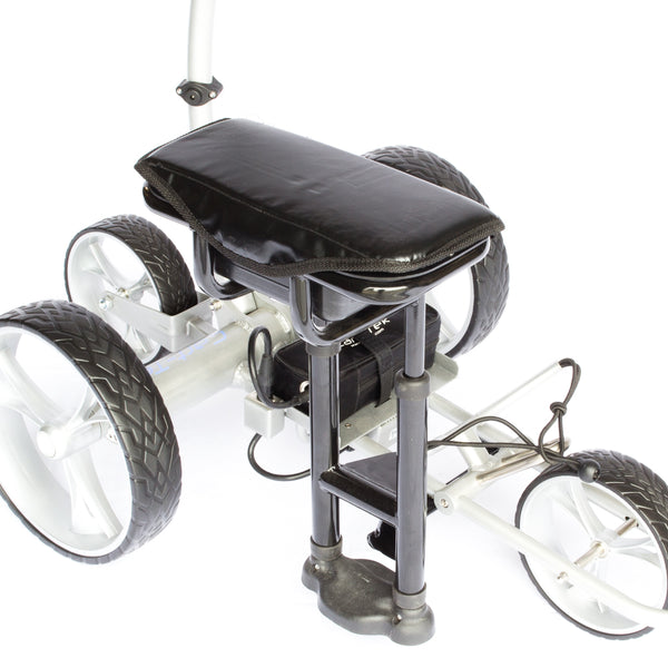 Cart-Tek Padded Seat with Storage