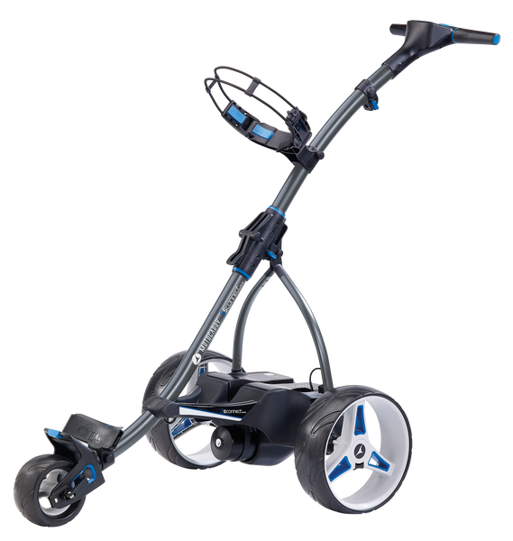 Motocaddy S5 CONNECT DHC Electric Trolley w/ E-Brake