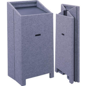 Carpeted Accordian Lectern