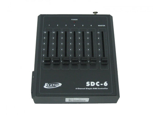 6 Channel DMX Lighting Controller