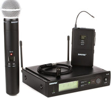 Load image into Gallery viewer, Shure SLX Combo Wireless Microphone System
