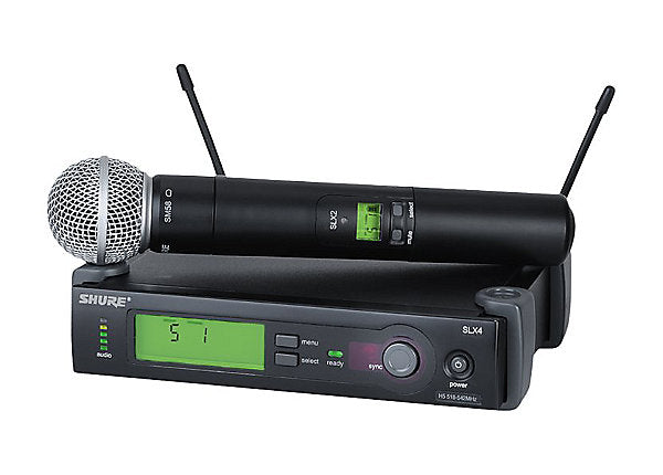 Shure SLX Hand Held Wireless Microphone System