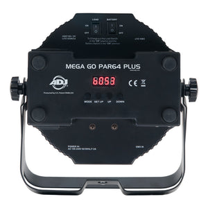 Battery Powered LED Up Light - ADJ Mega QA Go