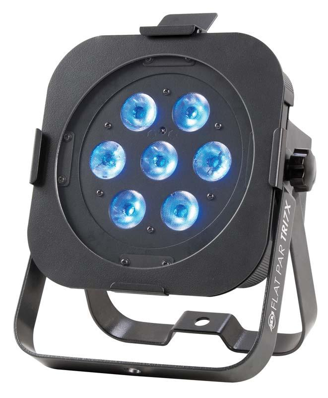 LED Up Light – ADJ Flat Par Tri 7X