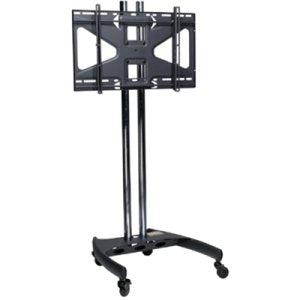 Mobile Universal Dual Pole Monitor Stand - 72""