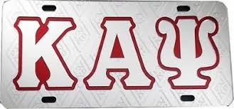 Kappa Diamond License Plate - Kappa Alpha Psi