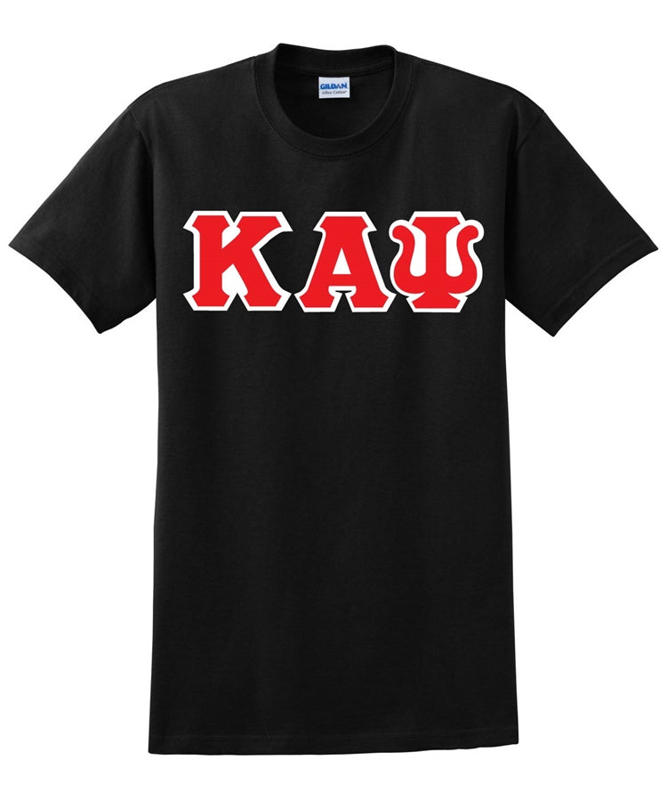 Kappa Greek 3 Letter T-Shirt - Kappa Alpha Psi