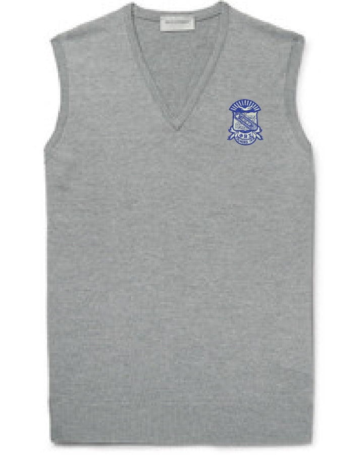 Sigma V-Neck Sweater Vest - Phi Beta Sigma