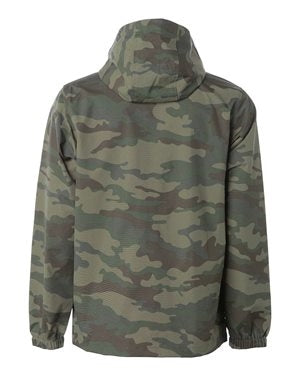 Omega Camo Anorak Pullover Hooded Jacket - Omega Psi Phi